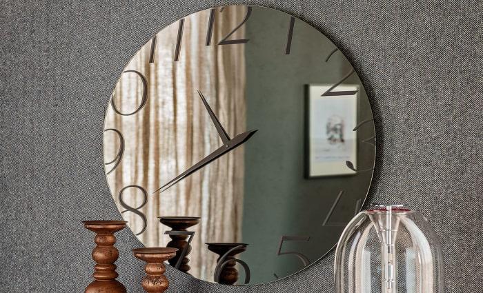 Orologio a specchio rotondo Moment