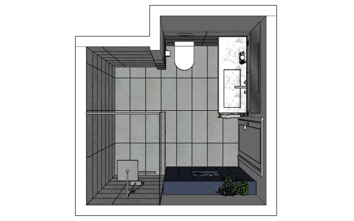 Progetto bagno: bozza del progetto
