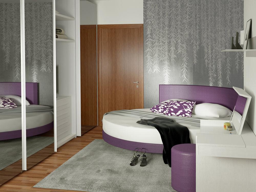 Idee il progetto di chiara 2 come inserire un letto rotondo in una camera piccola arredaclick - Piccole camere da letto ...