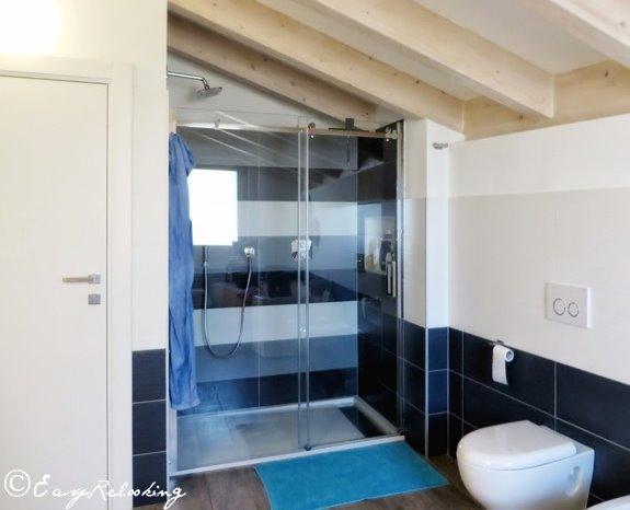 Idee il progetto bagno per due in mansarda arredaclick
