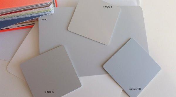 Foto campioni colori laccati