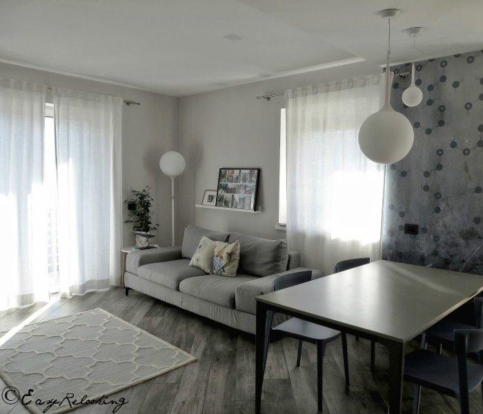 Idee - Il progetto #1: un open space con cucina a vista - ARREDACLICK