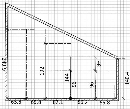Creare Una Cabina Armadio In Mansarda.Idee Il Progetto Di Pamela Una Cabina Armadio In Mansarda