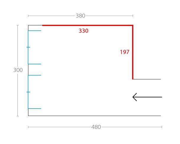 Idee il progetto di pamela una cameretta di 12 mq per for Arredare camera da letto di 10 mq