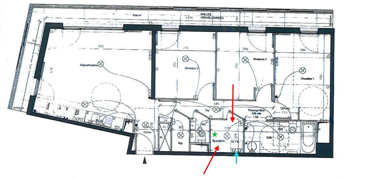 Idee il progetto di sara una cabina armadio in for Planimetrie della cabina di log