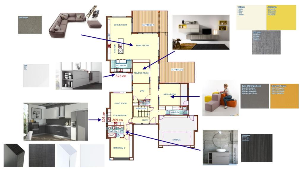 Idee il progetto di matteo due cucine su misura nella for Idee piano terra