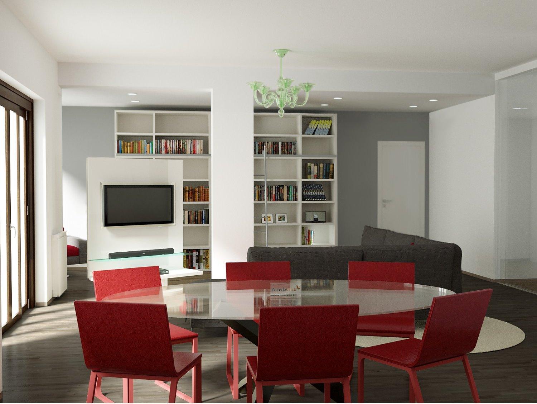 Arredaclick blog come arredare un soggiorno con colonne for Arredare un soggiorno
