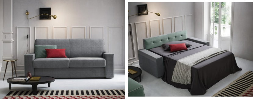 Arredaclick blog divano letto comodo esiste arredaclick for Divano letto con materasso alto 20 cm