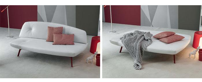Idee soggiorno trasformabile in camera quali arredi - Trasformare letto in divano ...
