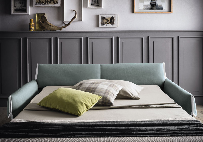 Divano letto con materasso altezza 16 cm - Vancouver