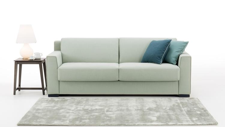 Hector un divano letto con materasso alto with materassi for Materassi x divano letto