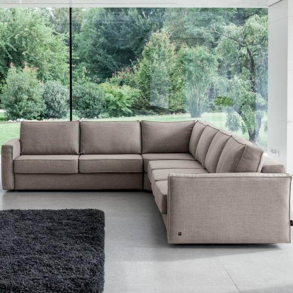 Grande divano angolare Mesh