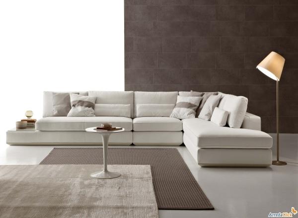 Divano Letto Bianco Ecopelle : Idee divani bianchi: pelle ecopelle o tessuto? arredaclick