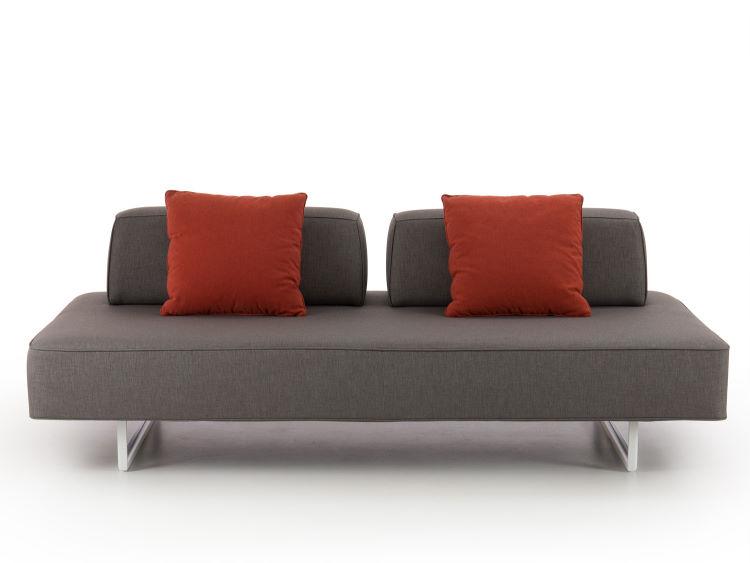 Divanetto senza schienale con cuscini movibili - Prisma Air