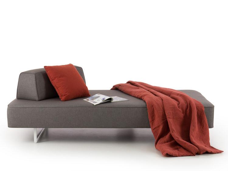 Divanetto chaise longue con schienale spostabile - Prisma Air
