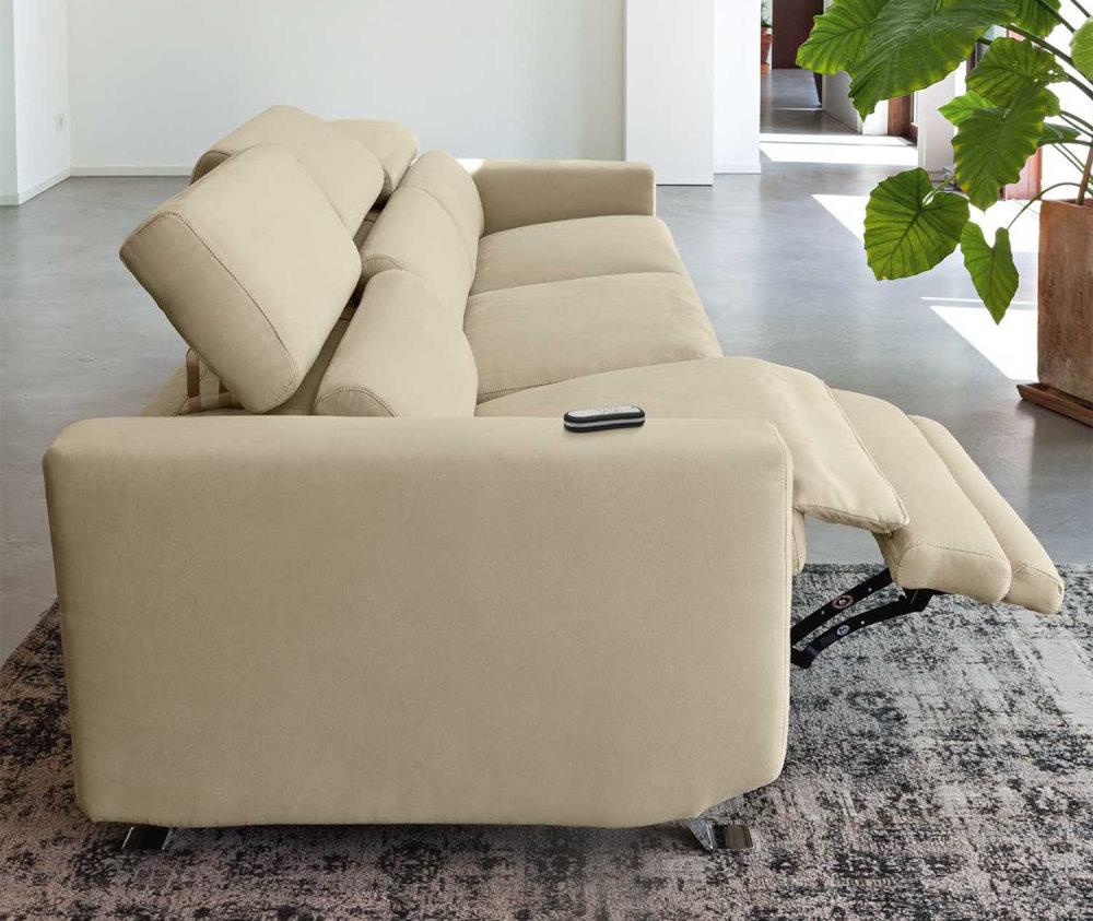 Divano recliner con meccanismo Zero Wall - divano Enea