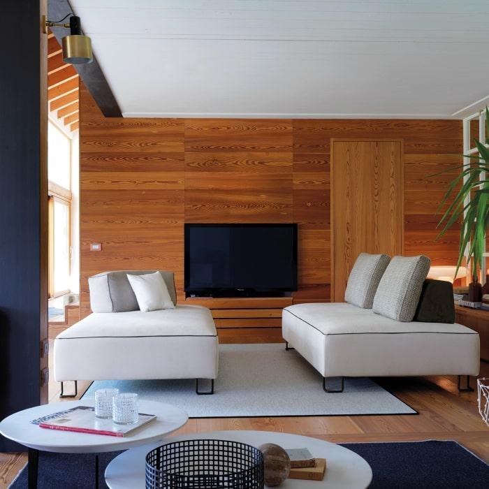 Piccolo divano modulabile Rigel