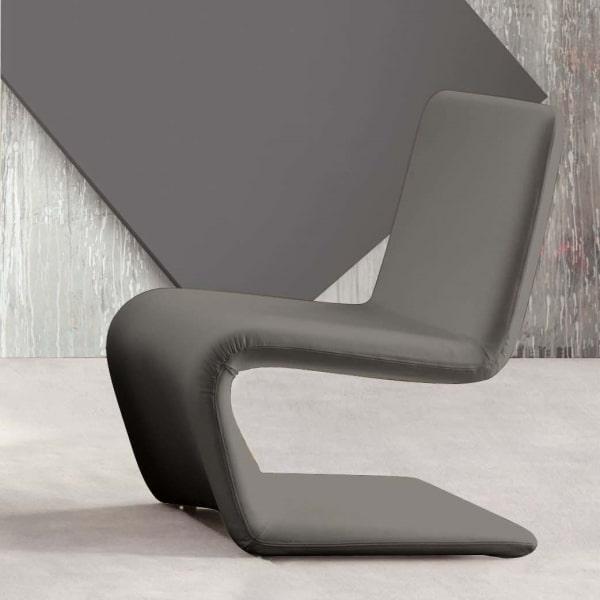 Poltrona grigio antracite Venere Lounge