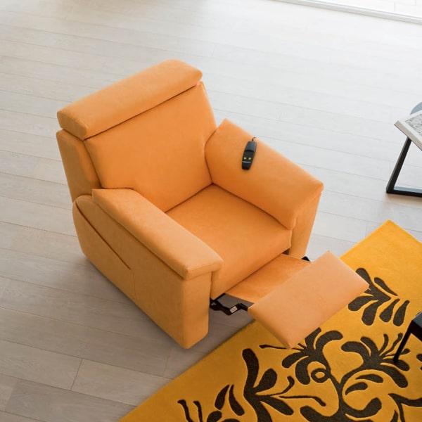Poltrona relax arancione Appeal