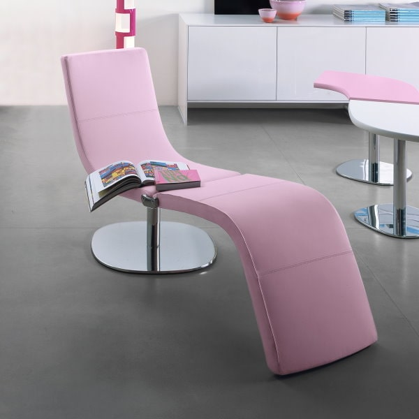 Poltrona rosa di design Dragonfly