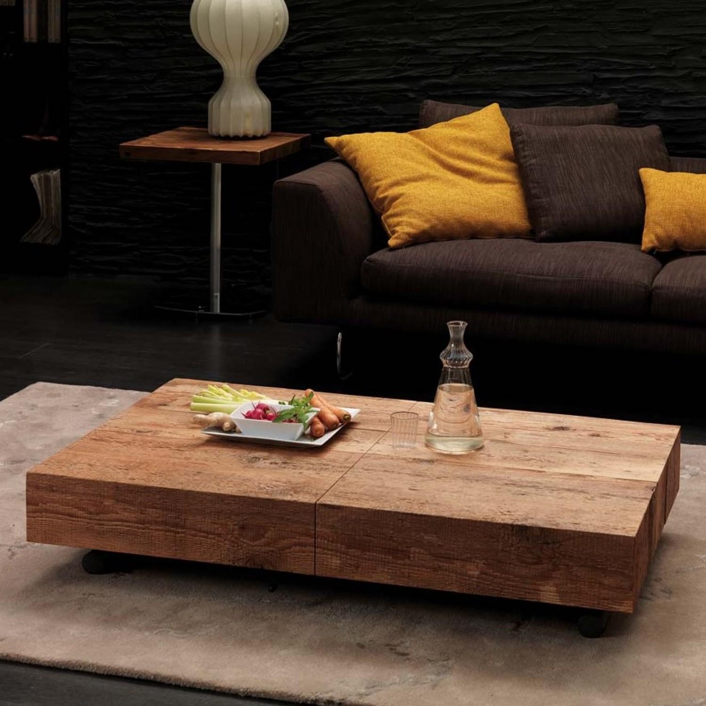 Box è Un Tavolino Da Salotto Trasformabile In Tavolo Da Pranzo Con  #AE811D 1500 1500 Come Allungare Un Tavolo Da Pranzo
