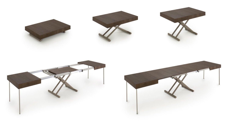 Tavolino Basso Che Si Trasforma In Tavolo Da Pranzo.Idee Guida All Acquisto Di Un Tavolino Trasformabile