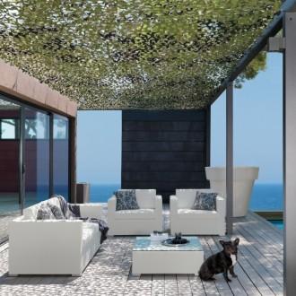 Divani rotondi da giardino idee per il design della casa - Divani da esterno ...