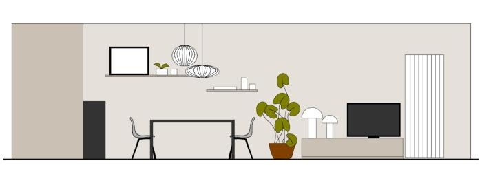 Idee arredare sala da pranzo e salotto insieme come for Disposizione salotto sala pranzo