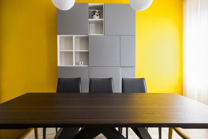 Credenza Da Muro : Idee il progetto un idea per dividere cucina e sala da pranzo