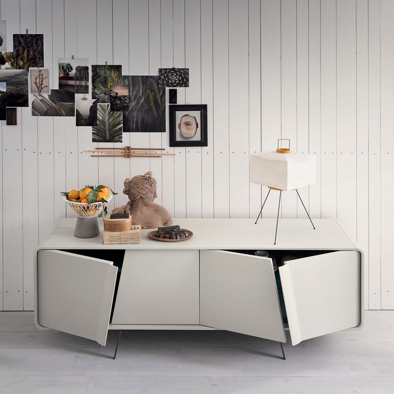 Idee credenza bianca 5 modelli per 5 stili arredaclick - Credenze cucina ikea ...