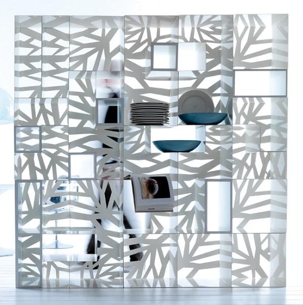Libreria modulare componibile Domino