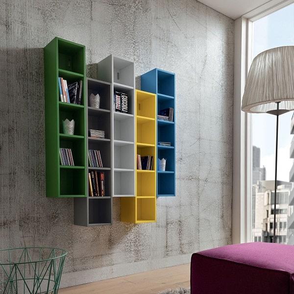 Libreria a quadrati Bellatrix
