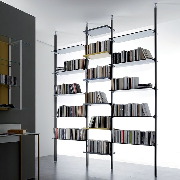 Libreria con struttura leggera Byron