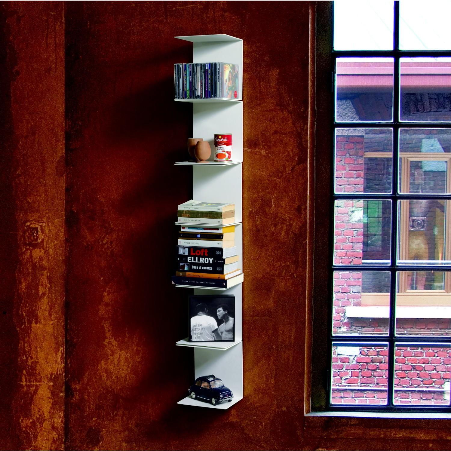 Libreria Componibile Parete Expansion : Idee libreria a colonna un totem che arreda in
