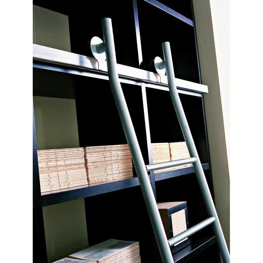 Idee il progetto di chiara libreria componibile - Scale per librerie ...