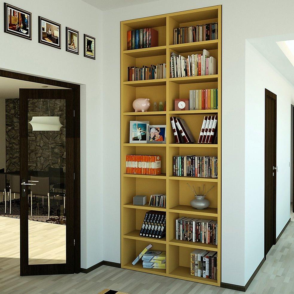 Libreria Almond, componibile e su misura