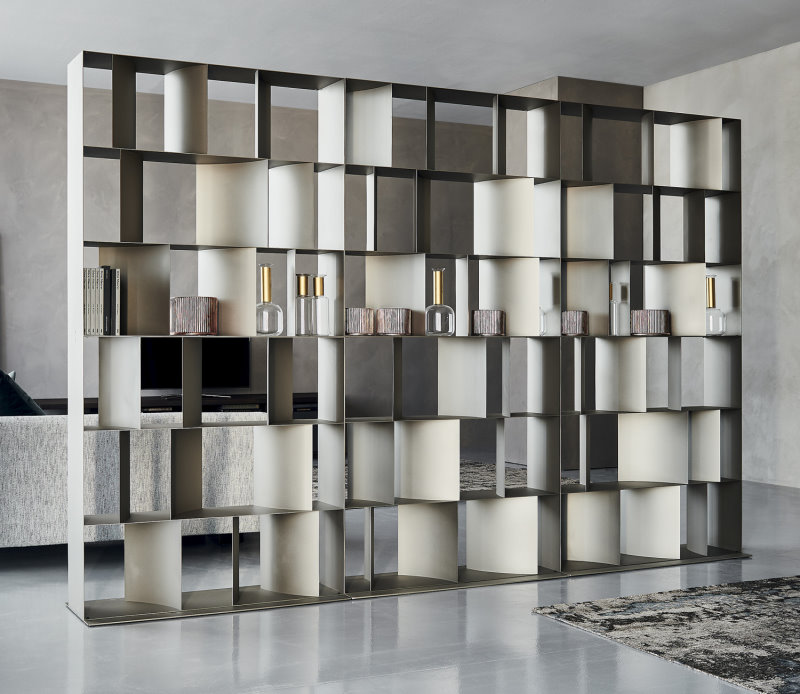 Libreria di design in metallo - Libreria Nautilus