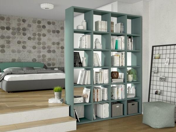 Libreria divisoria moderna Almond
