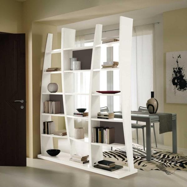 Idee - Dividere due ambienti: la soluzione? Le librerie! - DIOTTI.COM