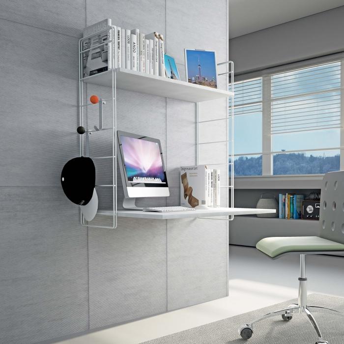Idee la camera dei ragazzi organizzare studio relax e - Consolle porta pc ...
