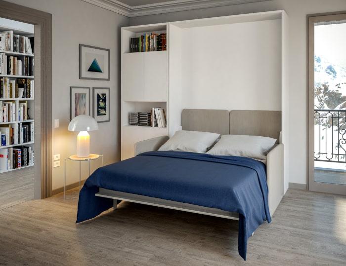 Armadio con letto integrato Pocker