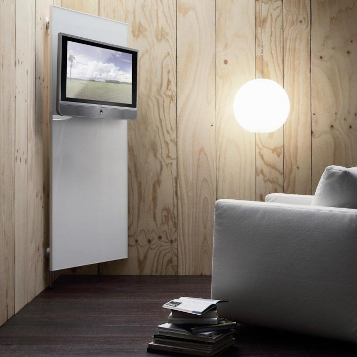 Porta TV per sfruttare un angolo Rimpiattino