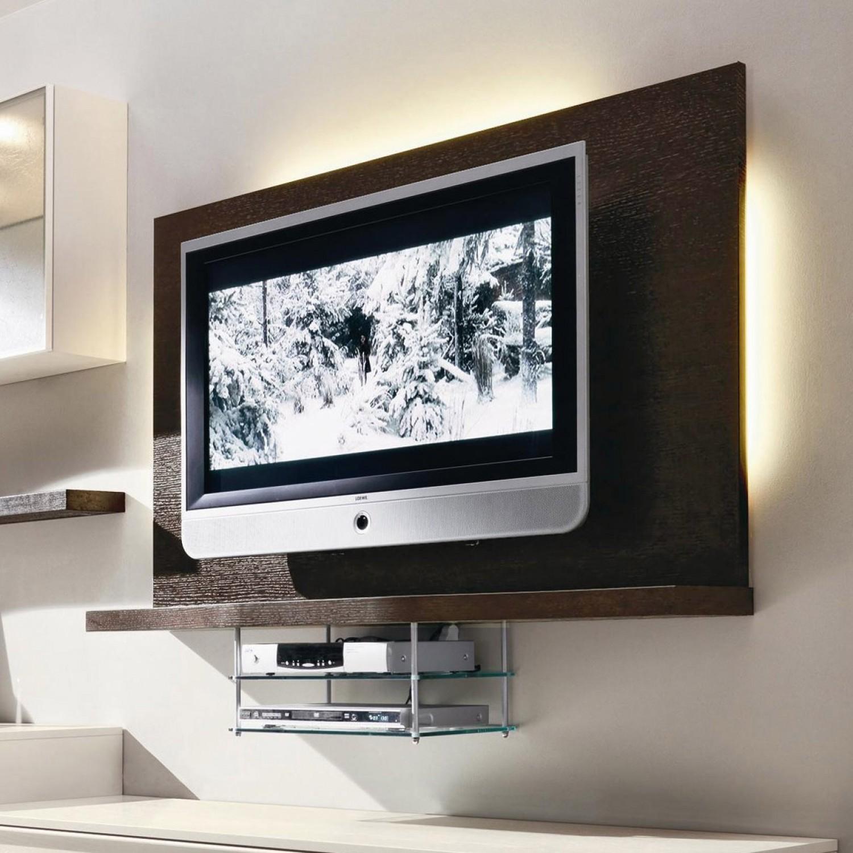 Idee come illuminare la zona tv arredaclick - Porta televisore da parete ...