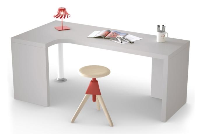 Arredaclick blog scrivania ricavare l 39 angolo studio for Piccole scrivanie