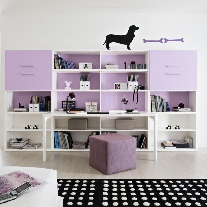 Idee scrivania ricavare l 39 angolo studio perfetto per i for Libreria per scrivania