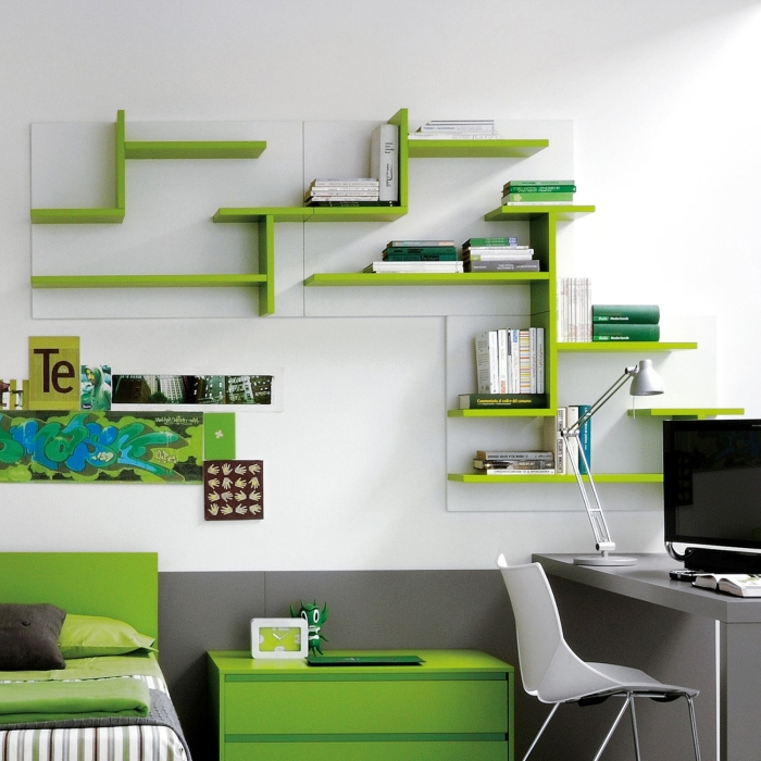 Idee scrivania ricavare l 39 angolo studio perfetto per i ragazzi arredaclick - Scrivanie ikea per ragazzi ...