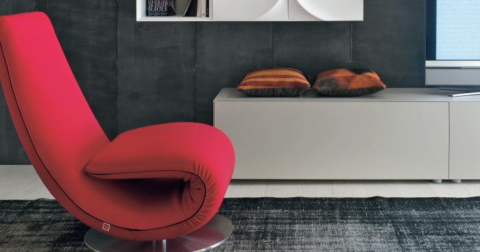 ... It.luvern.com Salotto Moderno Cucina Vista Controsoffitta Interior