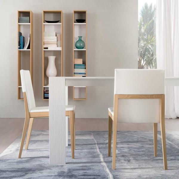 Sedie In Legno Laccate Bianco.Idee Sedie In Legno Moderne I 45 Modelli Top 20 Foto