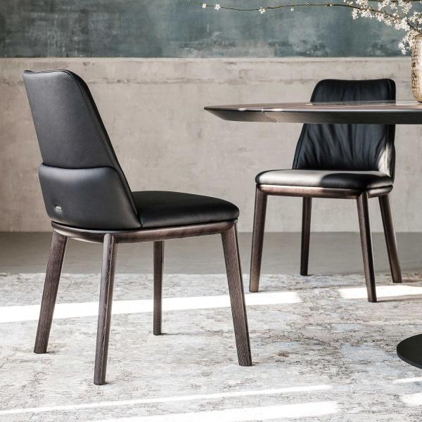 Sedie Design Legno E Pelle.Idee Sedie In Legno Moderne I 45 Modelli Top 20 Foto