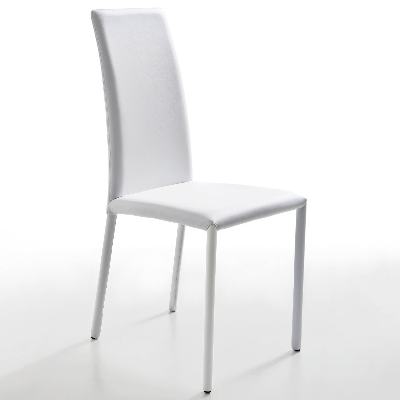 Sedie Metallo Pelle.Idee Sedie In Pelle 6 Modelli E 6 Prezzi Diotti Com